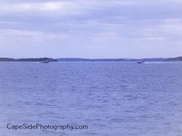 Boating by Deer Island