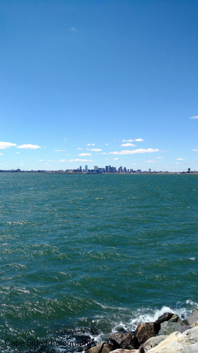 Boston From Deer Island