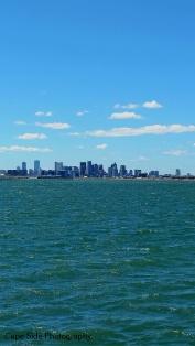 """Boston Skyline from Deer Island"""
