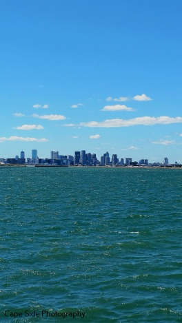 """Boston Sky Line from Deer Island"""