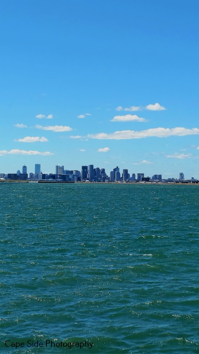"""Boston Sky Line from Deer Island"""