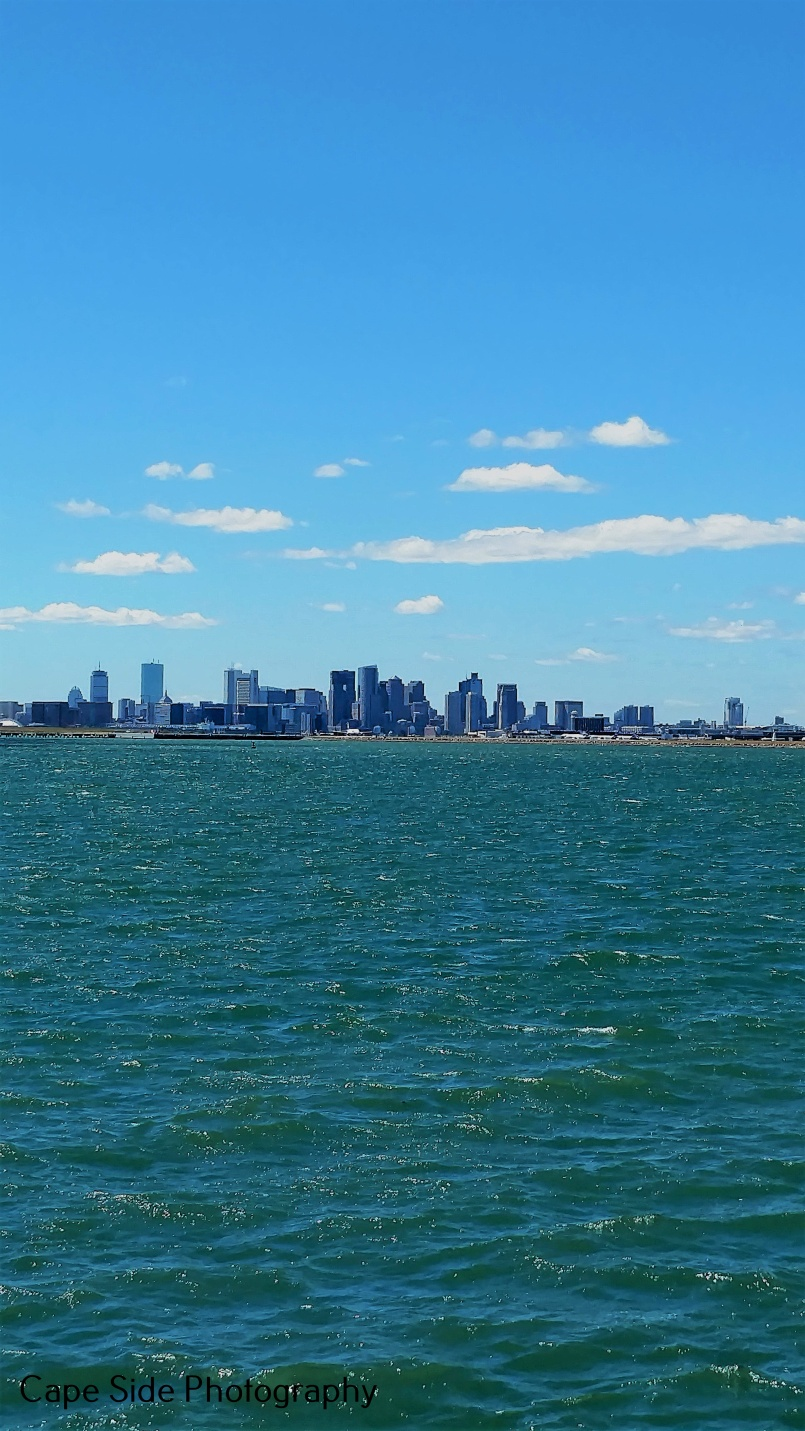 Boston Sky Line From Deer ISland