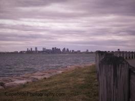 Boston Skyline From Deer Island