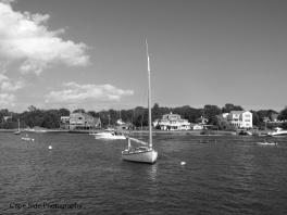 """Docked Sail Boat"""