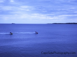 """Jet Skiing in Nahant Bay"""