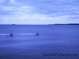 """Jet Skiing in Nahant Bay"""