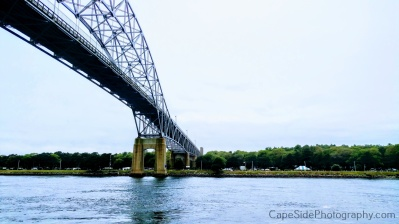 """View of the Bourne Bridge"""