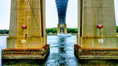 """Viking Under the Bourne Bridge"""
